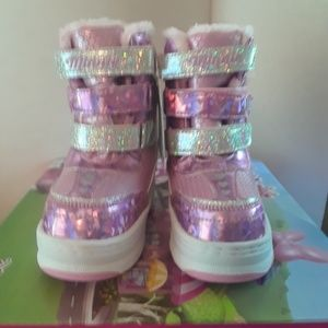 Minnie Mouse Snow Boots Girl's size 8T